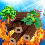 Паливні брикети для опалення