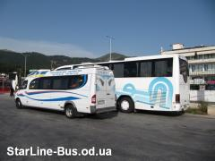Пасажирські -туристичні авто перевезення по Україні та Закордон
