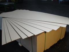 Плита ДВП ламінована товщини 2, 5 мм, 3,2 мм
