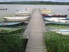 Понтони,причали,містки,площадки на воді,човнові паркування