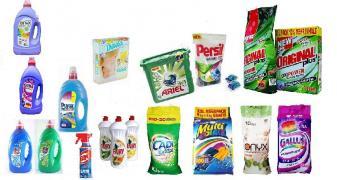 Порошки для прання європейських виробників