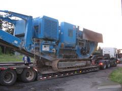 Послуги низкорамного трала для перевезення негабаритних вантажів