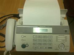 Продам в новому стані Телефон факс PANASONIC KX-FT982 White