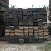 Продаються дерев'яні шпали б/у