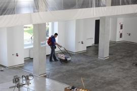 Промислові бетонні підлоги з топінгом