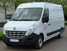 Rent minibus Renault Master 2,3 DCI 125 furg