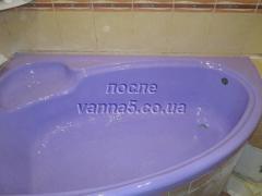 Реставрація ванн, душових піддонів, кабінок