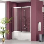Шторки скляні для ванною і душовою