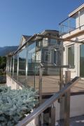 Скляні перила для сходів