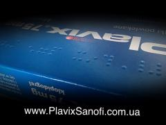 Таблетки Плавикс (Plavix) по оптовій ціні