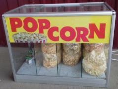 Теплові вітрини, готовий попкорн і все для попкорну