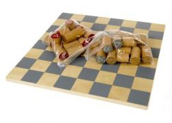 "The game ""Chess"" LIDL grey-beige F02-470104"