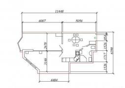 Urgent sale. 1-room quart. The house is leased. Aquamarine, Odessa