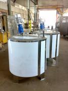 Ванна тривалої пастеризації ВДП-1000, Г6-ОПБ-1000 для соків