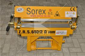 Верстат для гнуття металу ZGR 600 польського виробника Sorex
