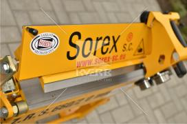 Верстат для різання листового металу Sorex ZGR 600 (Польща)
