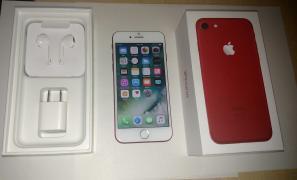 Яблуко iPhone 7 плюс 256 ГБ червоний видання Оригінальне розблоковано