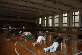 Заняття з фехтування для дітей у школі олімпійського резерву Дін