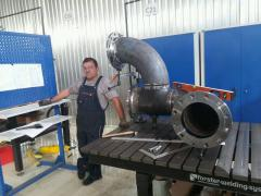 Зварювання труб і трубопроводів